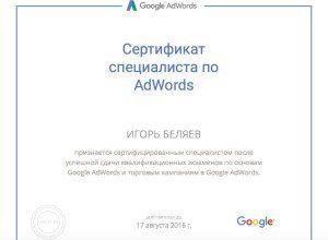 Google Adwords Shopping